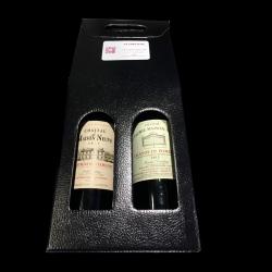 Coffret duo de vins Saint Emillion et Lalande de Pommerol