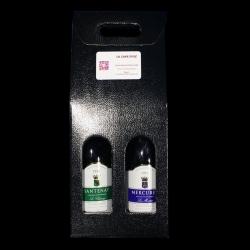 Coffret Santenay blanc 2016 et Mercurey 2013 rouge
