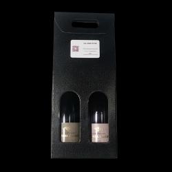Coffret Champagne Rosé et Blanc de Blanc